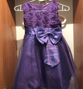 Детское пышное платье на праздник