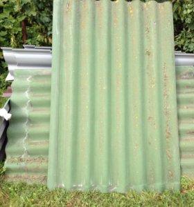 Шифер зелёный б/у в хорошем состоянии.