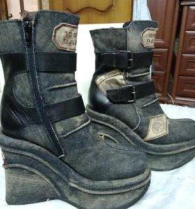 El Dantes. Джинсовые, кожанные ботинки/сапоги