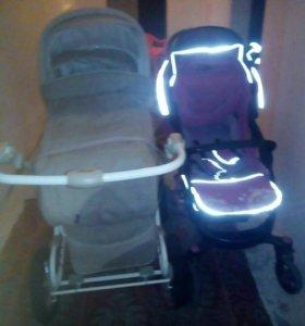 Детские коляски 2 шт.