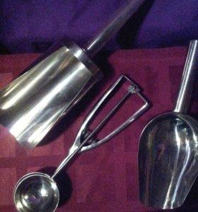 Инструмент для формовки шариков мороженного