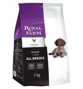 Royal Farm 12кг Сухой корм для пожилых собак