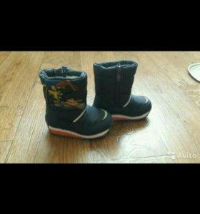 Ботиночки зимние.новые