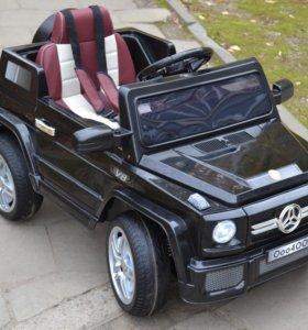 Детский электромобиль Mers О004ОО черный