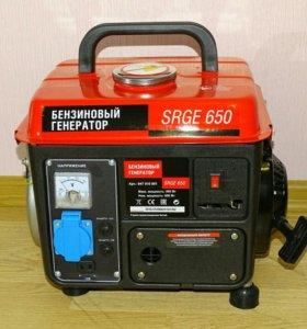Генератор бензиновый, 0,8кВт, новый