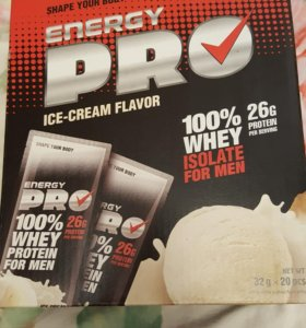 Белок протеин Energy pro для мужчин