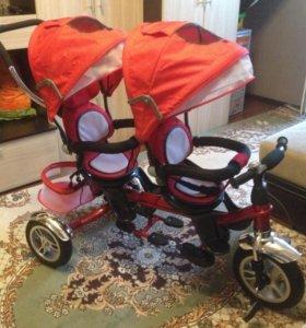 Детский велосипед для двойни Capella