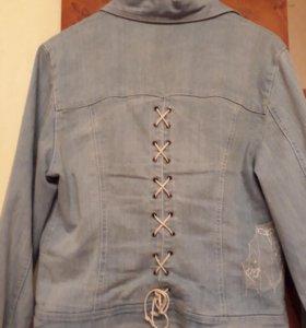 Курточка джинсовая италия
