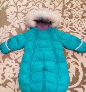 Зимний Комбинезон-трансформер детский