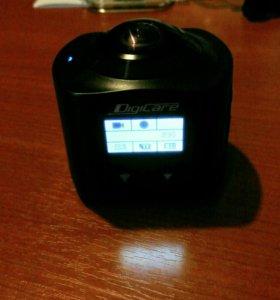Action камера 4к 360° OneCam360
