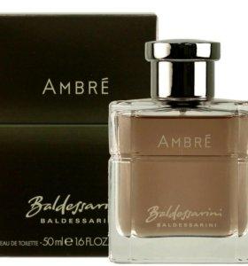 Baldessarini Ambré, мужской парфюм.