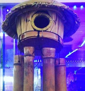 Музыка ветра из бамбука для вашего интерьера