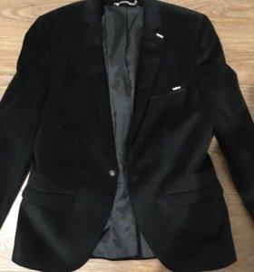 Пиджак вилюровый