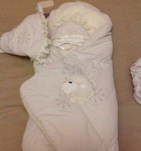 Конверт - одеяло зимний