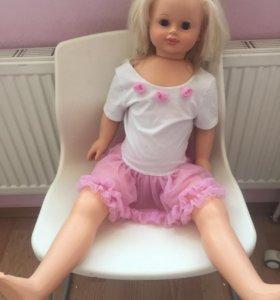 Кукла большая 85 см. Говорит.