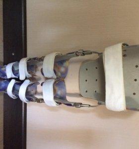 Аппарат на голеностопный сустав, для детей ДЦП.