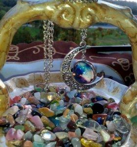 Талисман-Кулон,цепочки с природными камнями