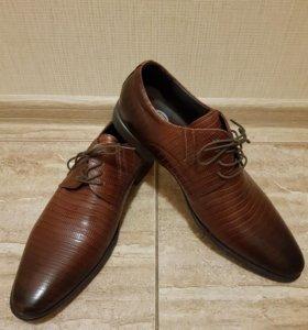 Новые мужские туфли Tervolina