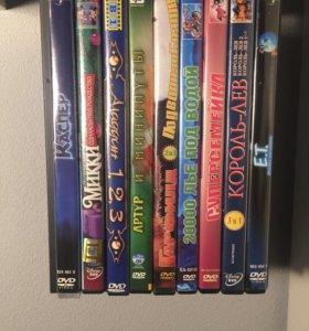 Детские мультфильмы dvd
