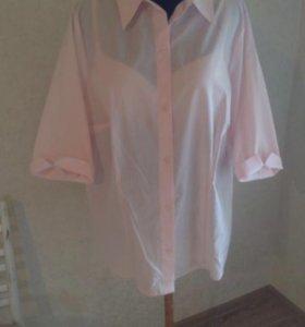 Продам новую рубашку и блузку р.58-62
