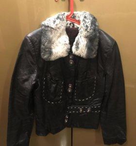 Куртка кожа разм S