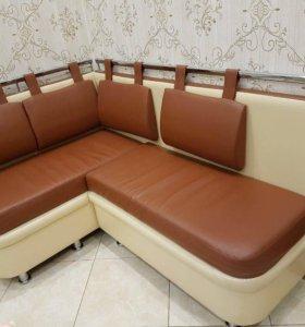 Угловой кухонный диван