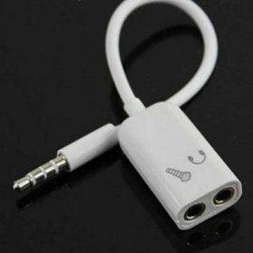 Переходник/ адаптер для наушников и микрофона