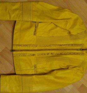 Куртка кожаная Tesini
