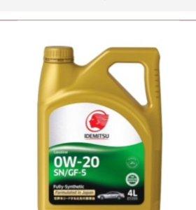 IDEMITSU 0W-20 SN/GF (F-S) 4л масло моторное