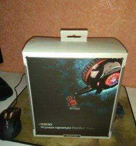 Наушники (игровая гарнитура) A4tech Bloody G300