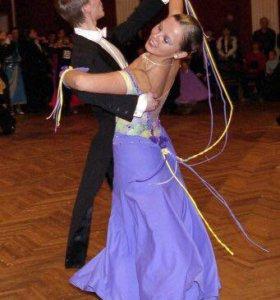 Платье стандарт (бальные танцы)