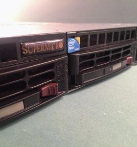 Сервер Supermicro X8DTL-I 2x Xeon L5520 12Gb DDR3