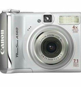 Фотоаппарат Canon A560