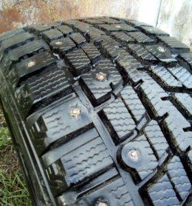 Зимняя резина Dunlop 195/55,r15 2 шт.