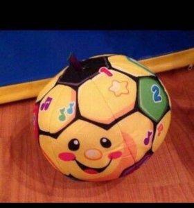Fisher Price футбольный мяч обучающий.