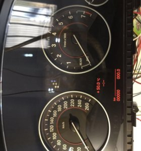 Приборная панель bmw f30 бензин расширенн/обнулена