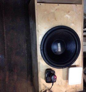 Сабвуфер sundown audio E15d2