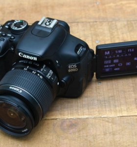 Canon EOS 600d kit EF-S 18-55mm f/3.5-5.6 IS II