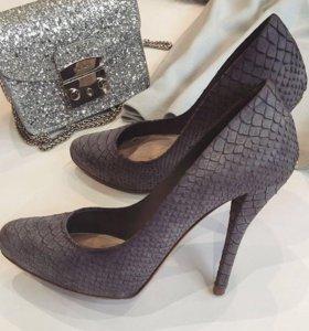 Туфли из питона Dior оригинал