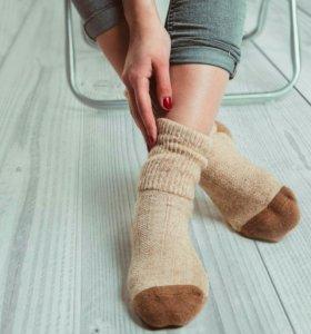 Носки из натуральной верблюжьей шерсти не подделка