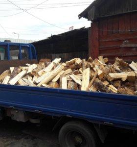 Продам дрова сосна сухая колатая (береза)