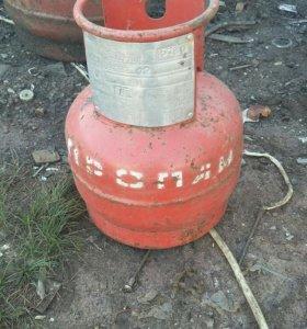 Газовые балоны 5 и 27 литров