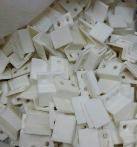 Крепления4 шт.  для москитной сетки. Пластик