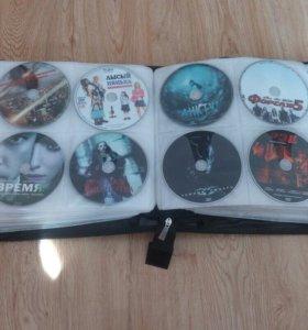 248 дисков фильмов и мультфильмов