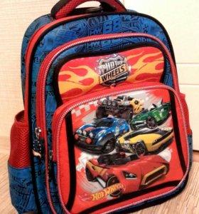 Новый школьный рюкзак Hot Wheels