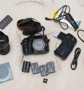 Зеркальный Sony a77, 24 мегапикселя, Full HD 50p