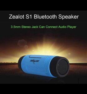 Bluetooth колонка ZEALOT( 4000мАч)!!!