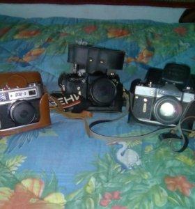Фотоаппараты зенит фед5 в хорошем состоянии