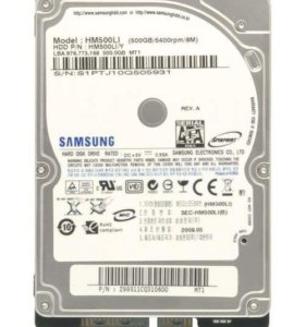 hdd для ноутбука Samsung HM500JI