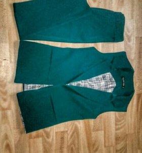 костюм жилетка+брюки